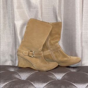 Wedged Boots